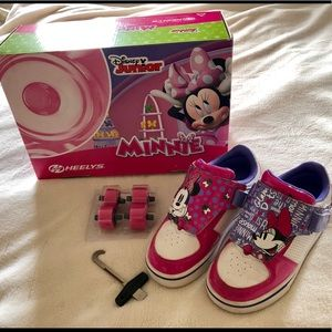 Heelys - Minnie Mouse Girl's Skateboarding Shoe